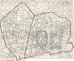 Mapa de la Barcelona Medieval