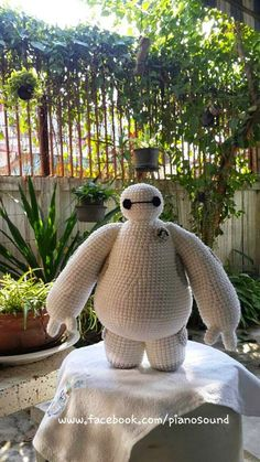 Amigurumi Baymax Big Hero 6 Pattern