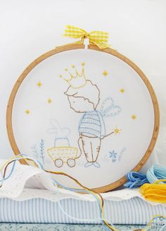 Embroidery pattern Complete Embroidery Kit My by TamarNahirYanai