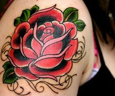 I'm going to get more of this style rose I have 4 I wanna fill my leg maybe add 4/6 more around the same spot