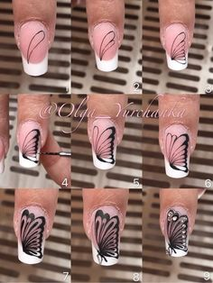 Our goal is to keep old friends, ex-classmates, neighbors and colleagues in touch. Butterfly Nail Designs, Butterfly Nail Art, Diy Nail Designs, Nail Art Diy, Diy Nails, Cute Nails, Pretty Nails, Yellow Nail Art, Nail Art Techniques