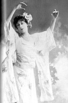 1890s portrait of Liane de Pougy
