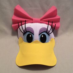 Running Daisy Duck Hat