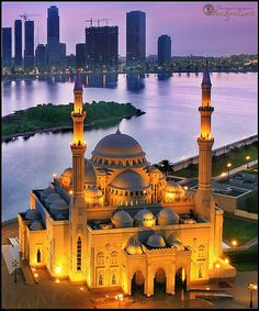 Masjid Al Noor in Sharjah, UAE