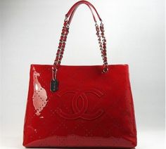 Chanel Patent Leather Handbag 370024