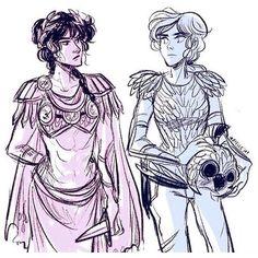Reyna and Annabeth
