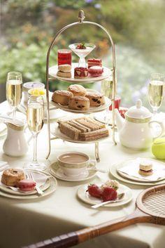 Wimbledon afternoon tea.