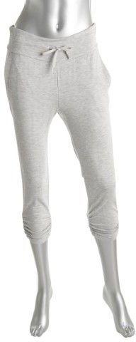 Lauren Ralph Lauren Womens French Terry Heathered Capri Pants