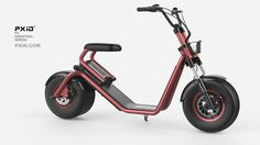 e-bike e-scooter industrial design scooter design E Bicycle, Scooter Bike, Kick Scooter, Scooter Design, Bike Design, Bike Chopper, Scooter Custom, Motorcycle Design, Bicycles