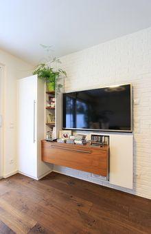 TV-Möbel gefertigt in unserer Tischlerei