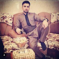 Mans kurdisk kläder
