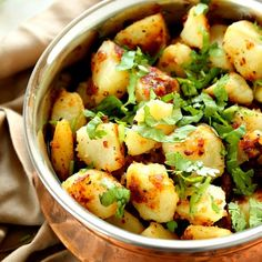 Bengali Aloo (Black Pepper Potates)