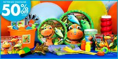 Dinosaur Train Party Supplies - Dinosaur Train Birthday - Party City