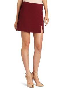 BCBGeneration Women's Slit A Line Skirt BCBGeneration. $24.80. A subtle slit sparks the imagination in BCBGeneration's Slit A-Line skirt.. Machine Wash. Above the knee. 98% Polyester/2% Spandex. Hidden zipper. Made in Vietnam