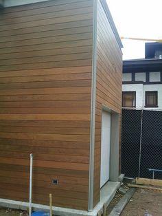 Also notice the flush garage door and surround.
