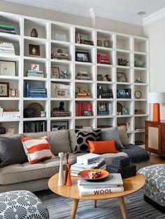Shelves, books and stuff