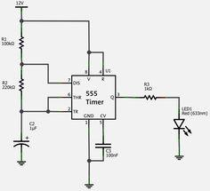 Blog sobre Eletrônica, Circuitos, LEDs, Transistor, Capacitor e resistor.