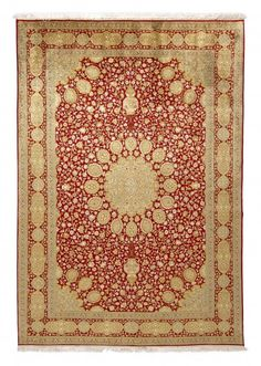 Kashmir was originally famous for its traditional printed fabrics and embroidered wool scarves.  Only later have they developed a significant carpet production.
