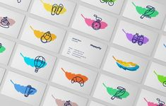 HappyFly boutique travel agency branding by Realist: