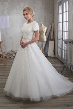 Buy Marys Bridal Wedding Dress today at Mada Western Wedding Dresses, Modest Wedding Dresses, Wedding Bridesmaid Dresses, Wedding Dress Styles, Bridal Dresses, Gown Wedding, Lace Wedding, Ceremony Dresses, Wedding Songs