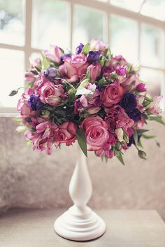Flowers from a wedding we did last October. Photo by André!