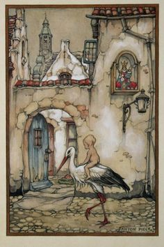 :: Sweet Illustrated Storytime :: Illustration by Anton Pieck