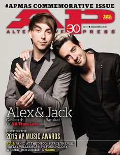 Announcing the second annual commemorative APMAs issue! ALL TIME LOW! PIERCE THE VEILl! PANIC! AT THE DISCO, HAYLEY & CHAD! ROB ZOMBIE! Exclamation points!