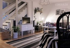Living room - Esmeralda's