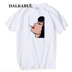 96177b520 US $15.99 |Aliexpress.com : Buy Movie Mia Wallace Pulp Fiction T shirt Men  cool tshirt Quentin Tarantino T shirt Women Hip Hop Girl Printed Summe Tops  Tees ...