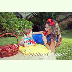 Snow White baby Photoshoot!