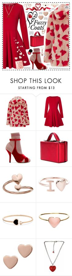 """""""I ❤ Fuzzy Coats!"""" by hennie-henne ❤ liked on Polyvore featuring Jakke, WithChic, Fendi, Mark Cross, Alex and Ani, Chopard, Orelia, Marc by Marc Jacobs, Tarina Tarantino and Kevyn Aucoin"""