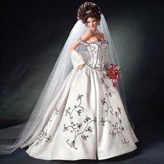 Black Tie Bride Champaign And Caviar by Cindy McClure 2006 Ashton Drake (0)