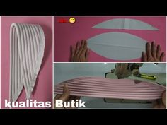 Diy Fashion Hats, Fashion Sewing, Hijab Fashion, Baby Hijab, Sewing Collars, Anime Girl Crying, Moslem Fashion, Hijab Style Tutorial, Turban Hijab
