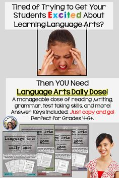If you need an Easy-to-Implement Comprehensive Language Arts Skill Builder, you have found it! ($)