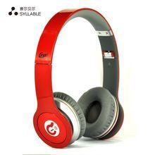 SÍLABA G05 Wired Fone De Ouvido Sobre a orelha Dobrável Baixo Headphone Fone de ouvido com Microfone para o Telefone Móvel Computador Tablet Isolamento de Ruído(China (Mainland))