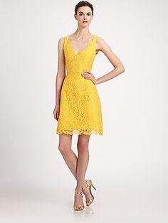 e9d8369127f7 ML Monique Lhuillier - Lace Dress