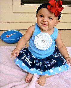 Tennessee Titans Dress YES YES YES!!!! Hahaha I love this! Go Titans!!!