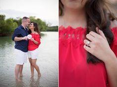 Jupiter Beach Engagement | Rafaela & Tommy - Amanda Smith Photography