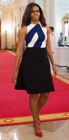 Michelle Obama's Best Looks Ever - 2016—Narciso Rodriguez from InStyle.com