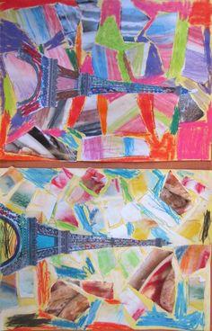 Bien connu collage-tour-eiffel   tour du monde maternelle   Pinterest   School HO36