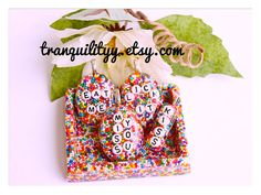 Candy Sprinkle Necklace Valentine Day Loaded by tranquilityy