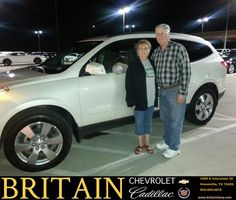 https://flic.kr/p/AoS2gx | Congratulations Barbara & Dean on your #Chevrolet #Traverse from Mike Donahoe at Britain Chevrolet Cadillac! | deliverymaxx.com/DealerReviews.aspx?DealerCode=I827