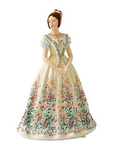 Royal Doulton China Young Queens, Queen Victoria