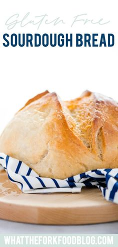 A Gluten Free Sourdough Bread recipe is perfect if you're new to sourdough bread baking. Easy to make with simple directions and schedule. Gluten Free Baking, Gluten Free Recipes, Bread Recipes, Baking Recipes, Starter Recipes, Gf Recipes, Muffin Recipes, Easy Recipes, Breakfast Recipes