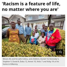 Racism is not just about the skin colour - it's the Death of the Nation! Waterford City, Irish People, Shock And Awe, Wipe Out, Weekend Is Over, Newspaper, Ireland, How To Become