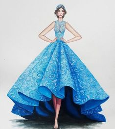 Best fashion sketches dresses art inspiration ideas Source by mistymorrning dress sketches Dress Design Sketches, Fashion Design Sketchbook, Fashion Design Drawings, Fashion Sketches, Fashion Drawing Dresses, Fashion Illustration Dresses, Dress Illustration, Dresses Art, Dress Fashion
