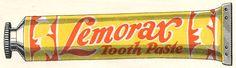 Propaganda Pasta de dentes Vintage 3