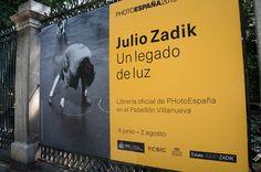 """Cartel de la Exposición """"Julio Zadik. Un legado de luz"""" en el Jardín Botánico de Madrid. #Fotogafía #Photography #PHE15 #PHOTOESPAÑA  #Cartel #Affiche #Arterecord 2015 https://twitter.com/arterecord"""