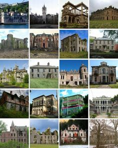 20 spectacular abandoned mansions of the World.  Bigger pictures through the link.