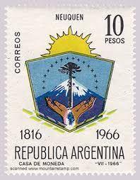 1966 Argentina-Escudo de Neuquen